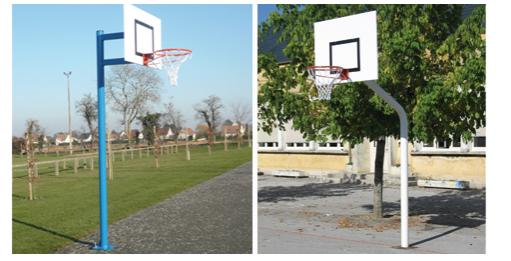 Buts de basket ball ext rieur pso for Panneau de basket exterieur